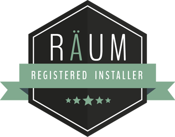 Registered installer badge