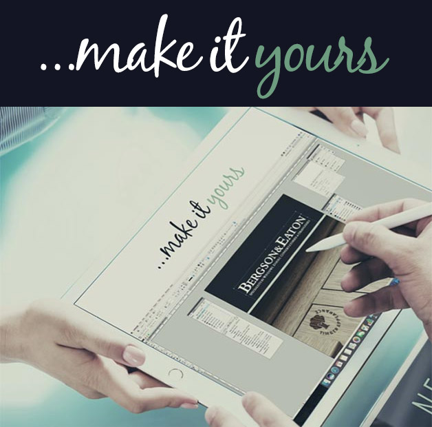Make it yours, Raum installer marketing support